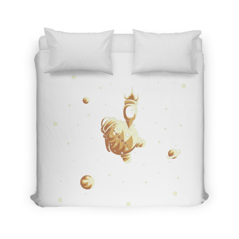 Space exploration Home Duvet by Pbatu's Artist Shop