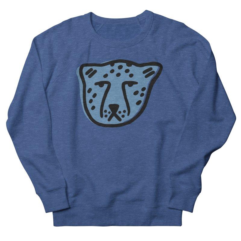Blue Cheetahs Men's Sweatshirt by Peach Things Artist Shop