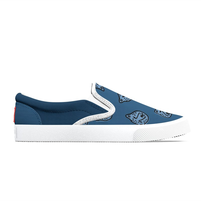 Blue Cheetahs Men's Shoes by Peach Things Artist Shop