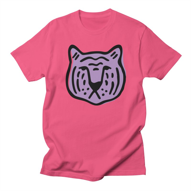 Purple Tigers Men's T-Shirt by Peach Things Artist Shop