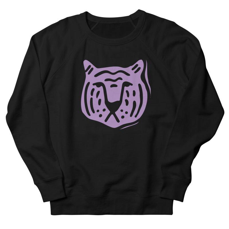 Purple Tigers Men's Sweatshirt by Peach Things Artist Shop