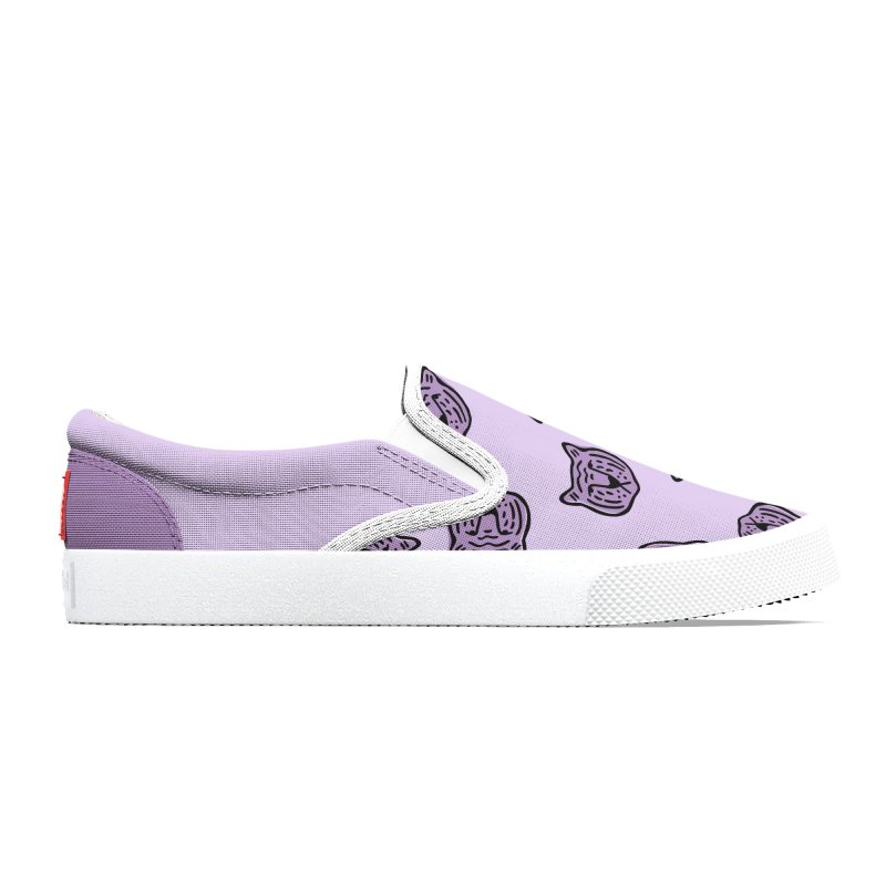 Purple Tigers Women's Shoes by Peach Things Artist Shop