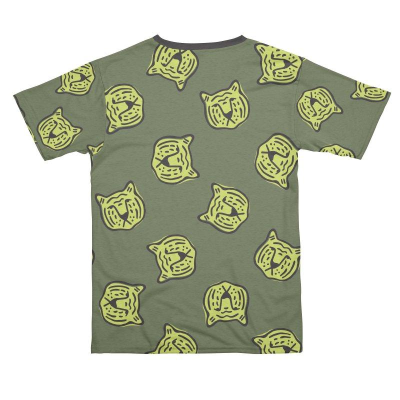 Citron Tigers Men's Cut & Sew by Peach Things Artist Shop