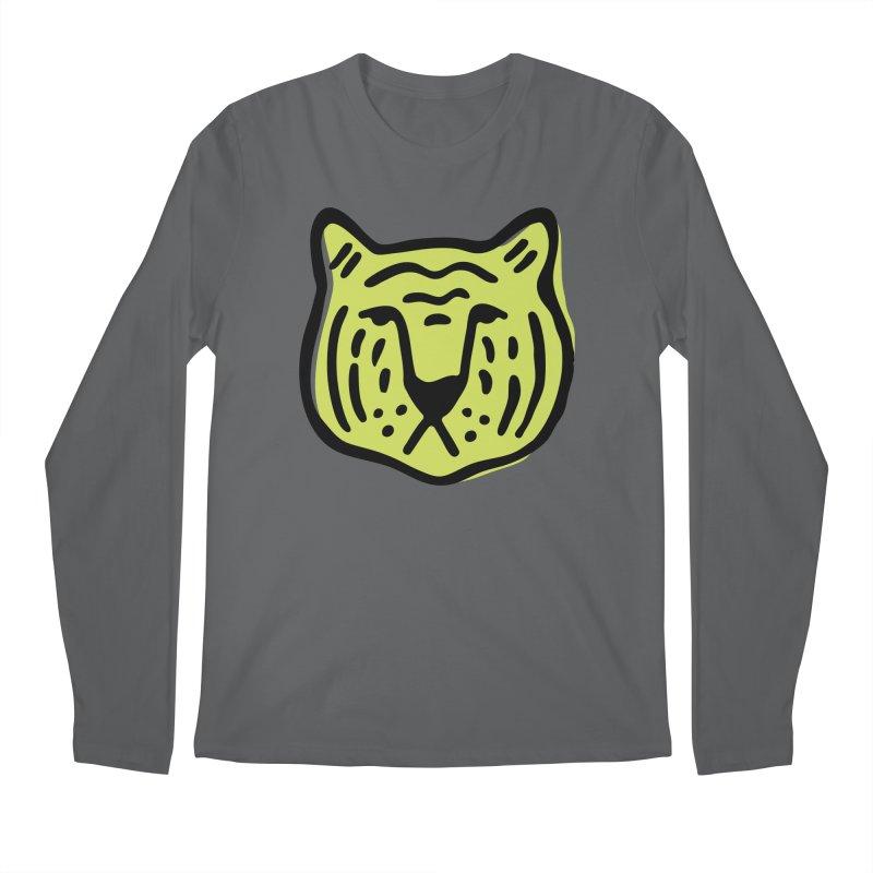 Citron Tigers Men's Longsleeve T-Shirt by Peach Things Artist Shop