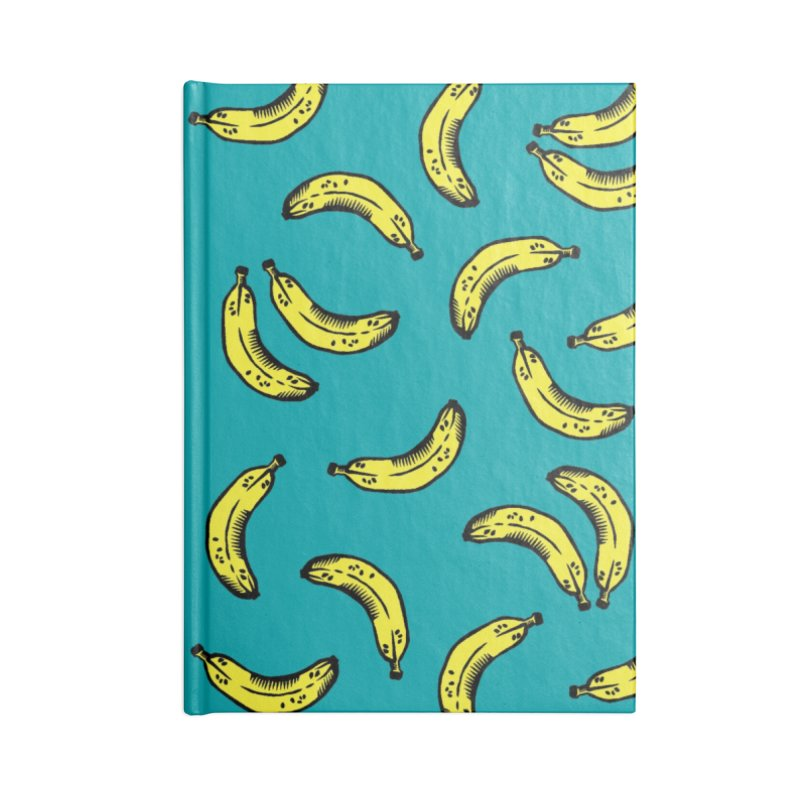 Bananas Accessories Notebook by Peach Things Artist Shop