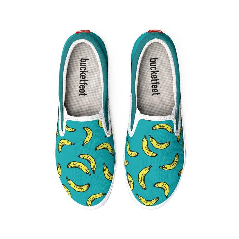 Bananas Men's Shoes by Peach Things Artist Shop