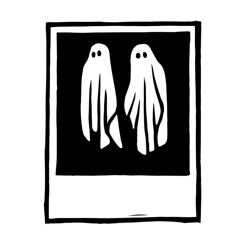 Ghost Polaroid Men's T-Shirt by Peach Things Artist Shop