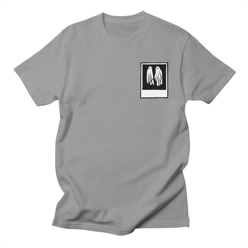 Ghost Polaroid Men's T-Shirt by Peach Things Artist Shop