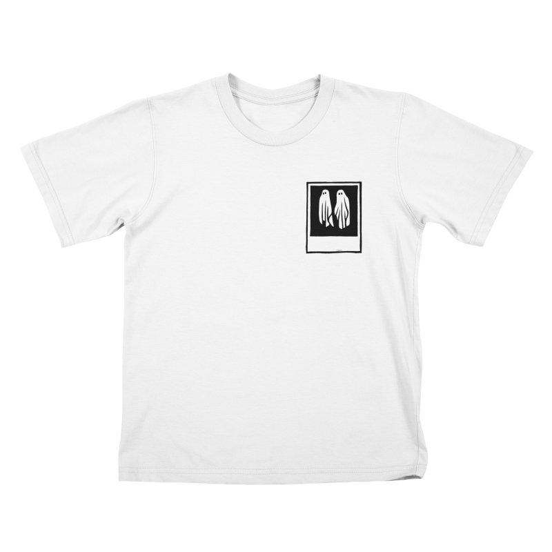 Ghost Polaroid Kids T-Shirt by Peach Things Artist Shop