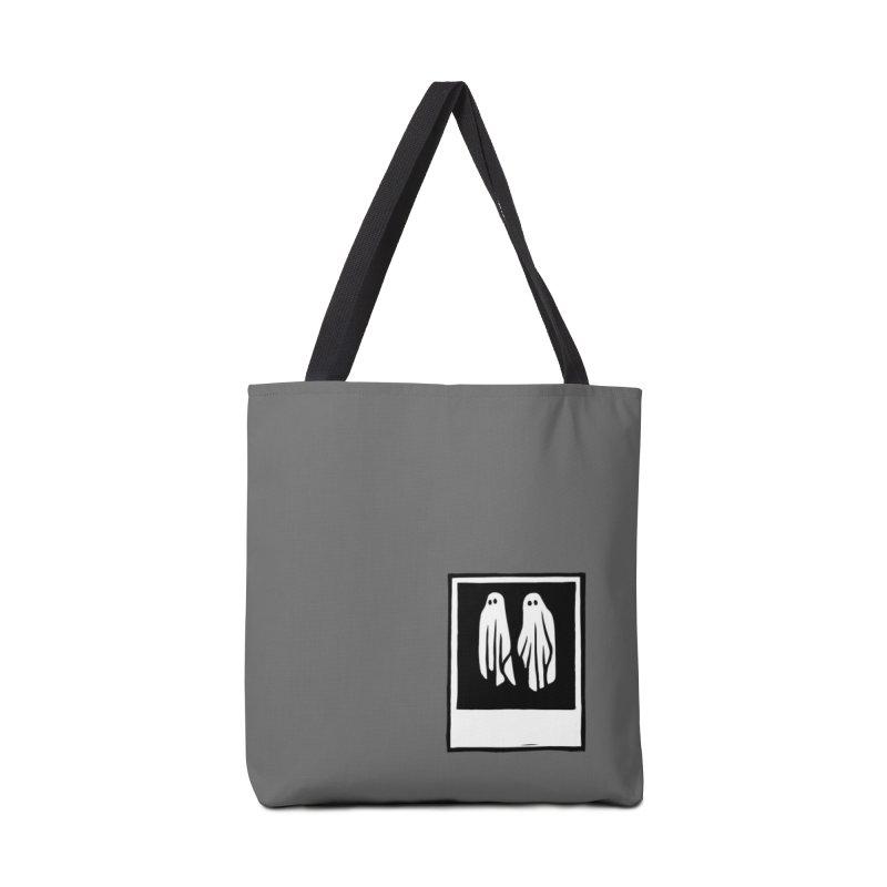 Ghost Polaroid Accessories Bag by Peach Things Artist Shop