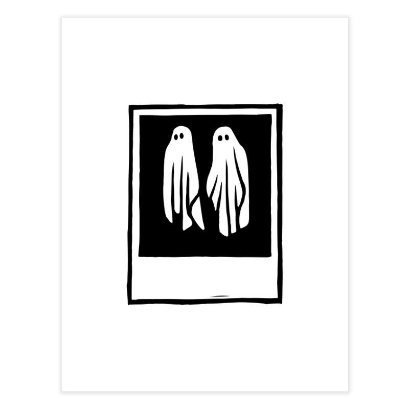Ghost Polaroid Home Fine Art Print by Peach Things Artist Shop