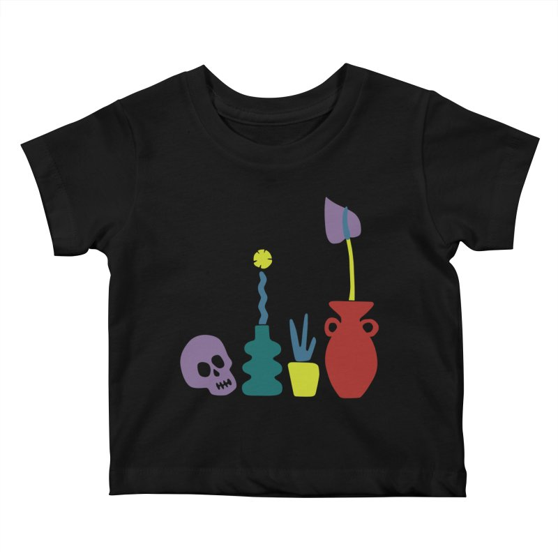 Still Life 1 Kids Baby T-Shirt by Peach Things Artist Shop