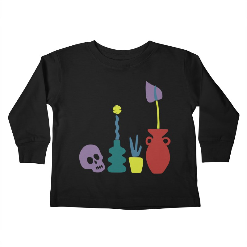 Still Life 1 Kids Toddler Longsleeve T-Shirt by Peach Things Artist Shop