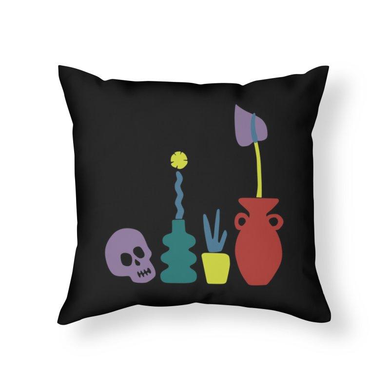 Still Life 1 Home Throw Pillow by Peach Things Artist Shop