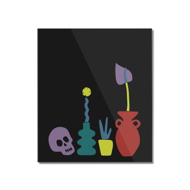 Still Life 1 Home Mounted Acrylic Print by Peach Things Artist Shop