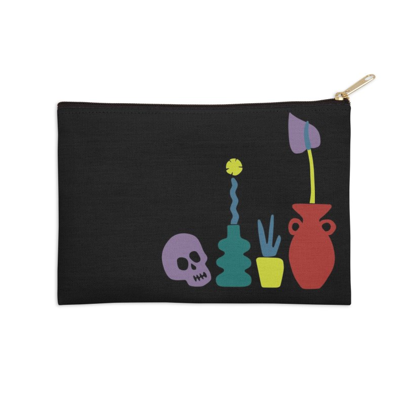 Still Life 1 Accessories Zip Pouch by Peach Things Artist Shop