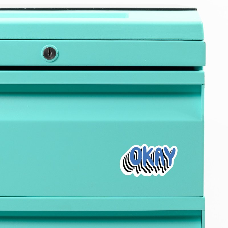 OKAY Accessories Magnet by Peach Things Artist Shop