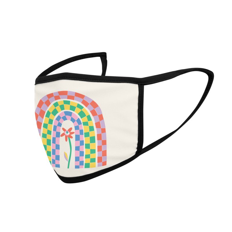 Late Bloomer Accessories Face Mask by Peach Things Artist Shop