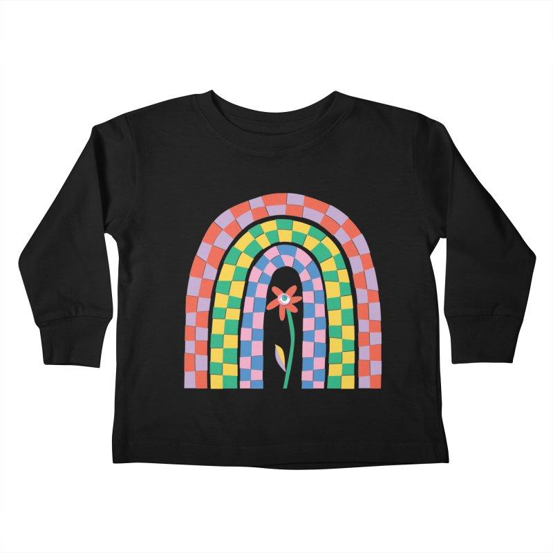 Late Bloomer Kids Toddler Longsleeve T-Shirt by Peach Things Artist Shop