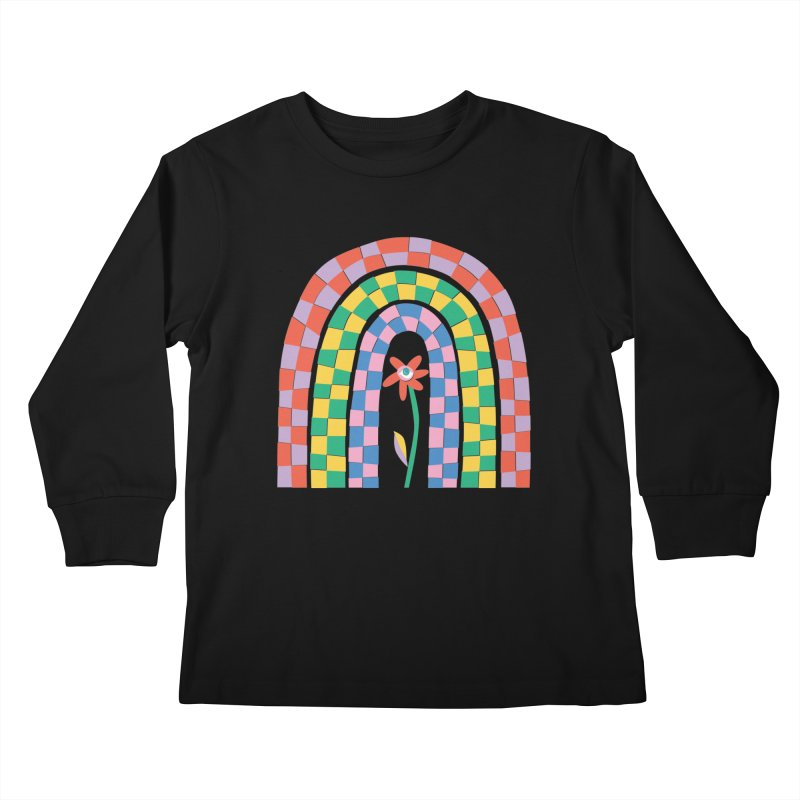 Late Bloomer Kids Longsleeve T-Shirt by Peach Things Artist Shop