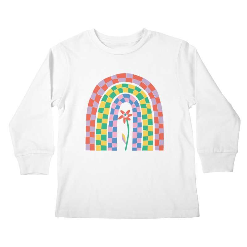 Late Bloomer Kids Longsleeve T-Shirt by Peach Things Artist Shop
