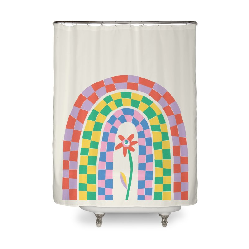 Late Bloomer Home Shower Curtain by Peach Things Artist Shop
