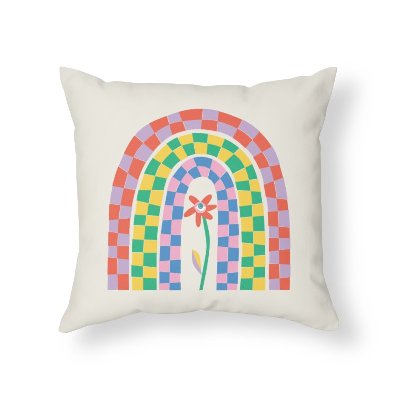 Late Bloomer Home Throw Pillow by Peach Things Artist Shop