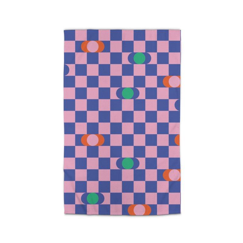 Eclipse Checkerboard Home Rug by Peach Things Artist Shop