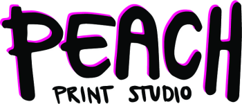 PeachPrintStudio's Artist Shop Logo