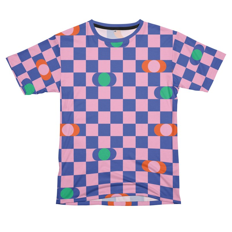 Eclipse Checkerboard Men's Cut & Sew by Peach Things Artist Shop