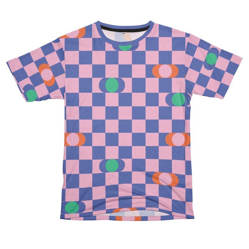 Eclipse Checkerboard Women's Cut & Sew by Peach Things Artist Shop