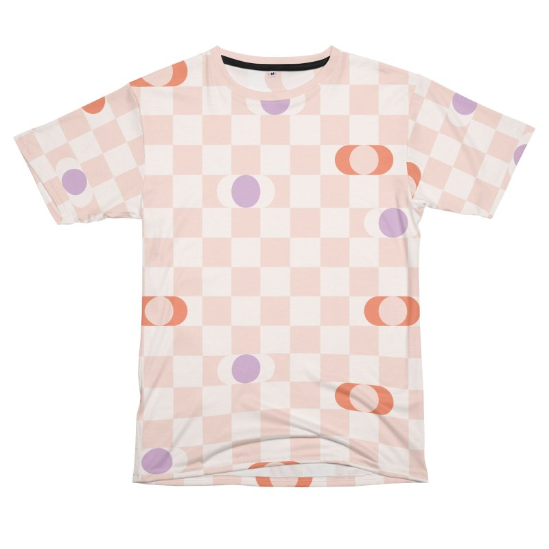 Pastel Eclipse Checkerboard Women's Cut & Sew by Peach Things Artist Shop