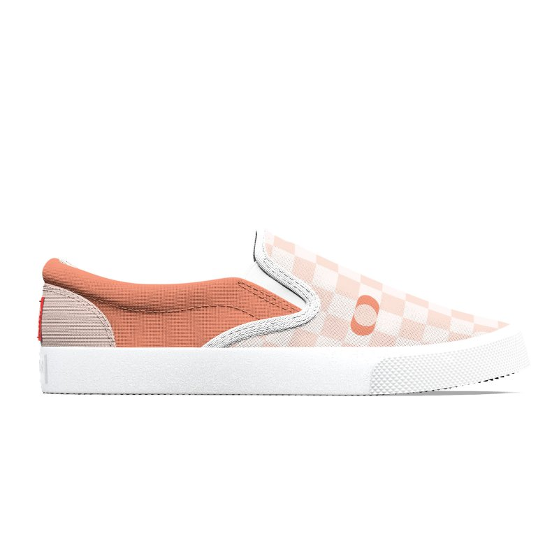 Pastel Eclipse Checkerboard Women's Shoes by Peach Things Artist Shop