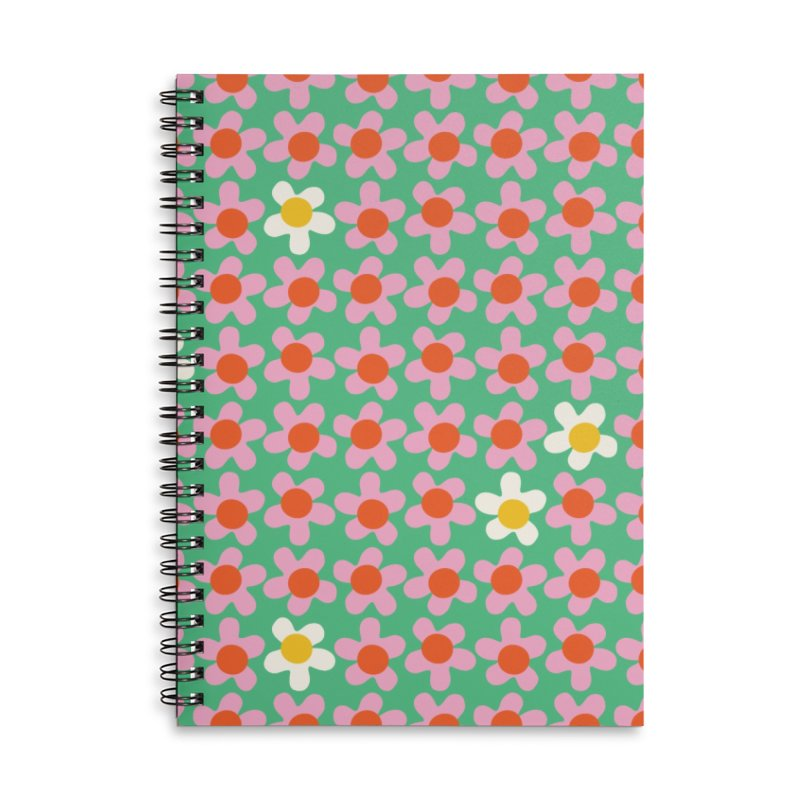 Daizy Field Accessories Notebook by Peach Things Artist Shop