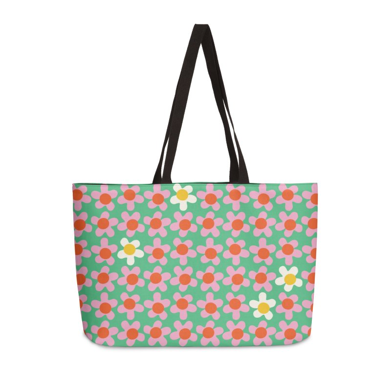 Daizy Field Accessories Bag by Peach Things Artist Shop