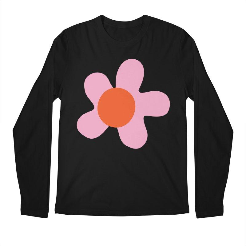 Daizy Field Men's Longsleeve T-Shirt by Peach Things Artist Shop