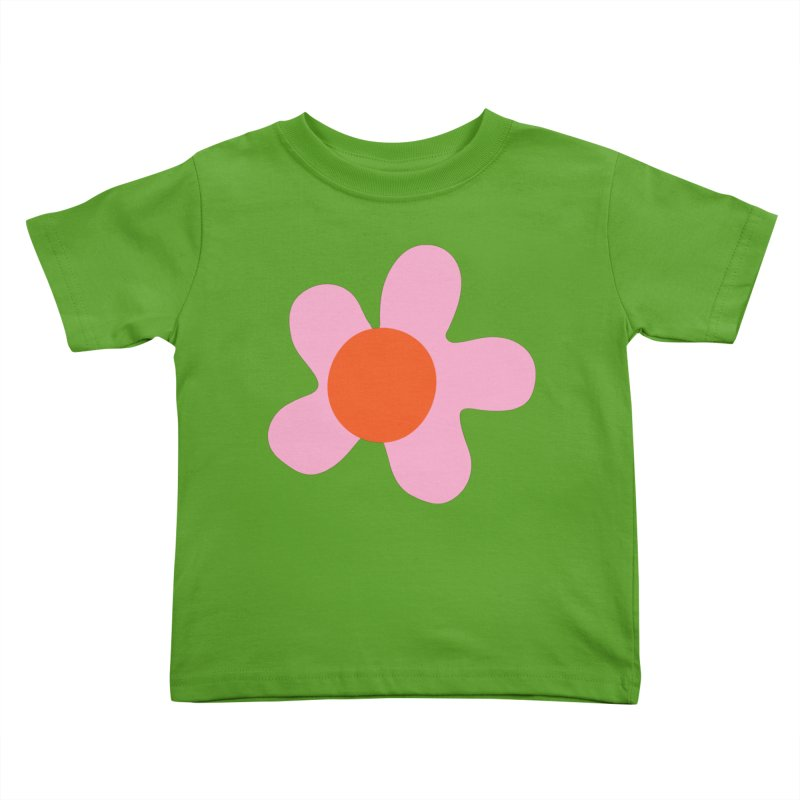 Daizy Field Kids Toddler T-Shirt by Peach Things Artist Shop