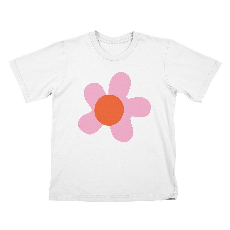Daizy Field Kids T-Shirt by Peach Things Artist Shop