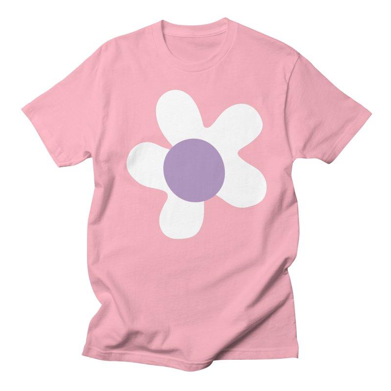 Black & White Daizy Field Men's T-Shirt by Peach Things Artist Shop