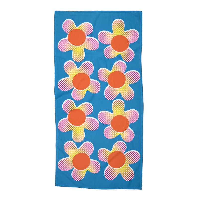 Daizy Riso Accessories Beach Towel by Peach Things Artist Shop