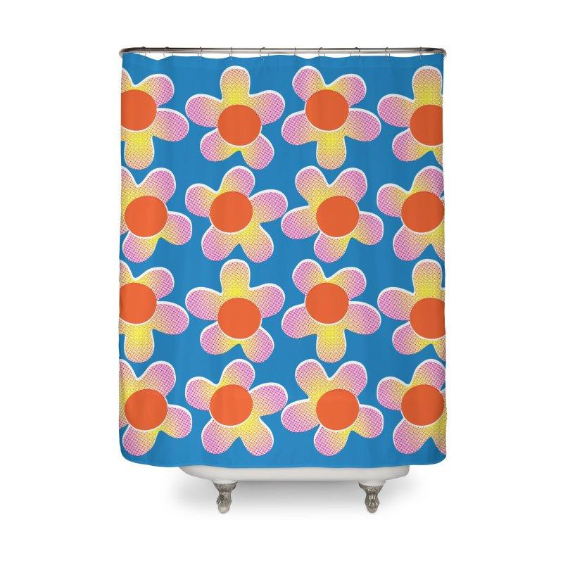 Daizy Riso Home Shower Curtain by Peach Things Artist Shop