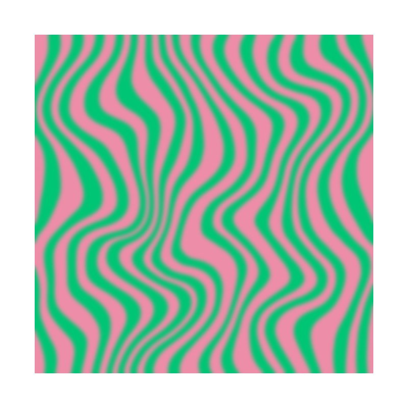 Pink and Green Blur Home Blanket by Peach Things Artist Shop
