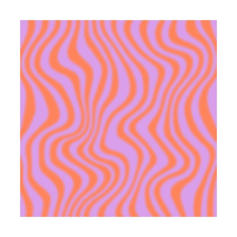 Purple and Orange Blur Home Blanket by Peach Things Artist Shop