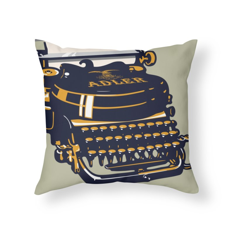 Writers Block or a New Beginning 1 Home Throw Pillow by Peadro Designs