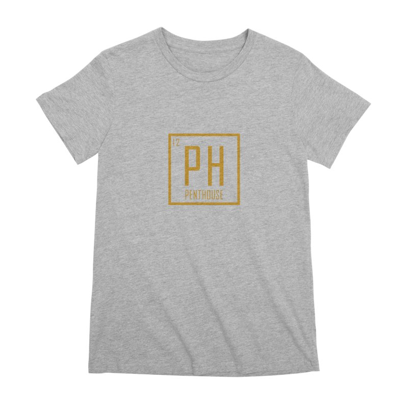 Periodic PH_Gold Women's Premium T-Shirt by Penthouse Media's Shop