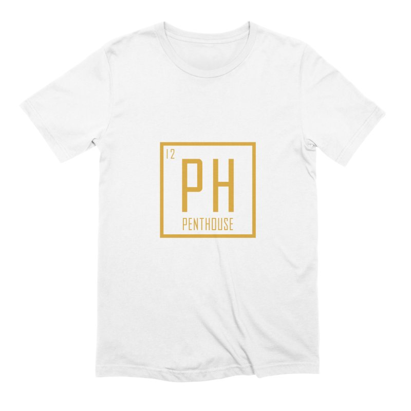 Periodic PH_Gold Men's Extra Soft T-Shirt by Penthouse Media's Shop