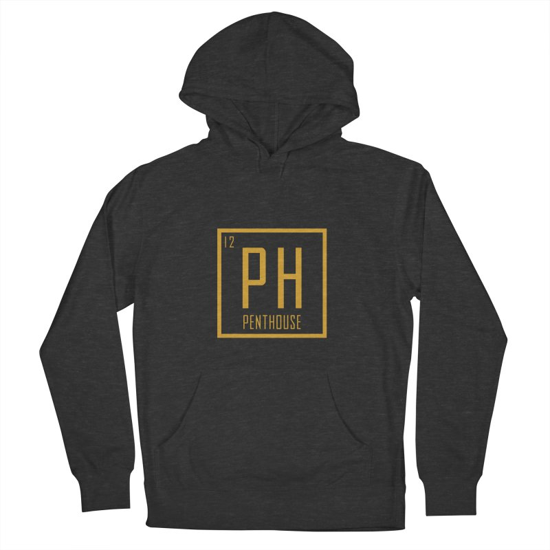 Periodic PH_Gold Men's French Terry Pullover Hoody by Penthouse Media's Shop