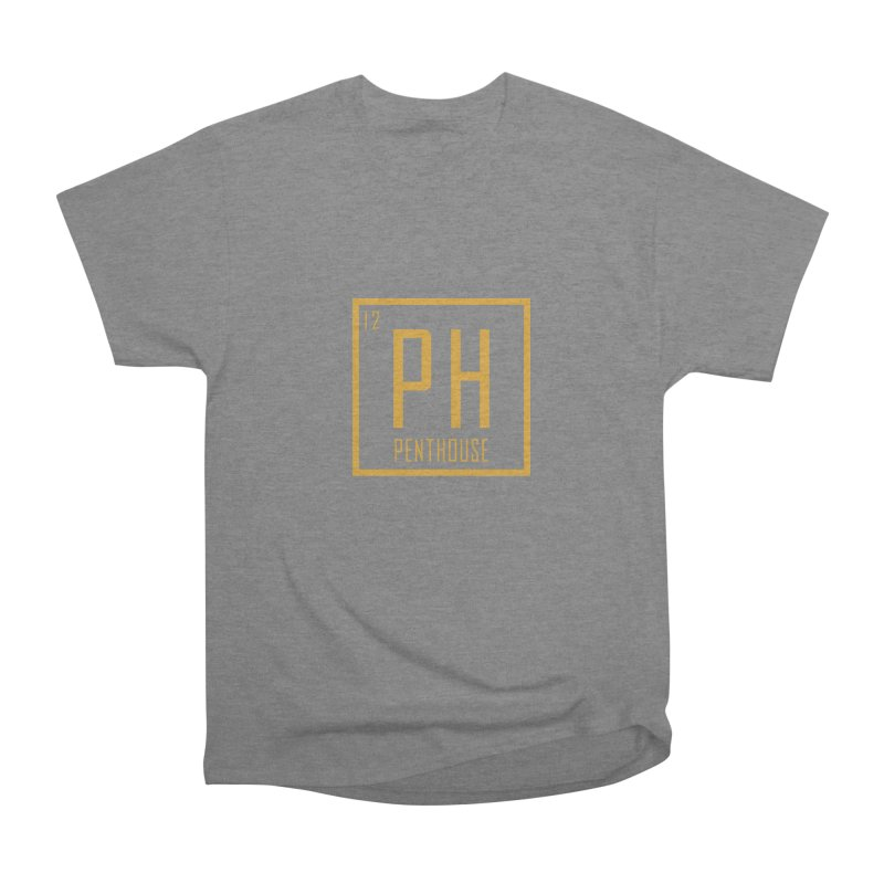 Periodic PH_Gold Men's Heavyweight T-Shirt by Penthouse Media's Shop