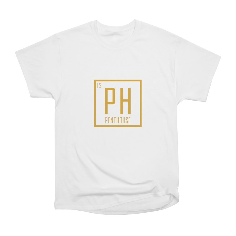 Periodic PH_Gold Women's Heavyweight Unisex T-Shirt by Penthouse Media's Shop