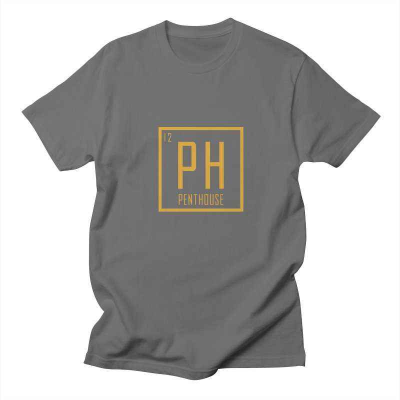 Periodic PH_Gold Men's T-Shirt by Penthouse Media's Shop